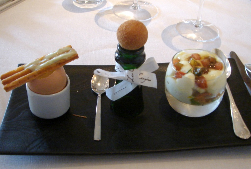 Delectable amuse-bouche to tempt the palate