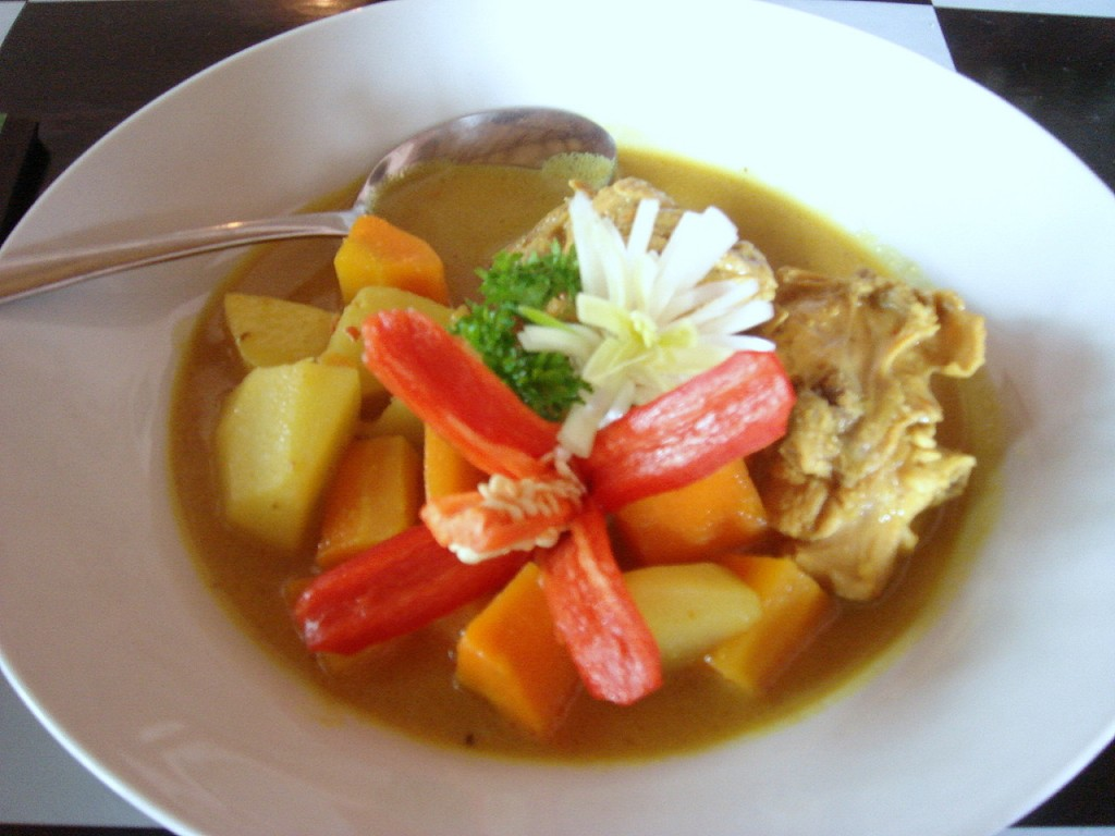 Opor ayam (chicken curry)