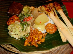 From the buffet selection at Rumah Roda