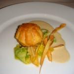 Oyster dumpling