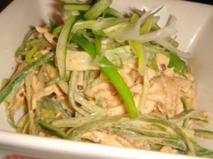 Sichuan-style 'bang-bang' chicken