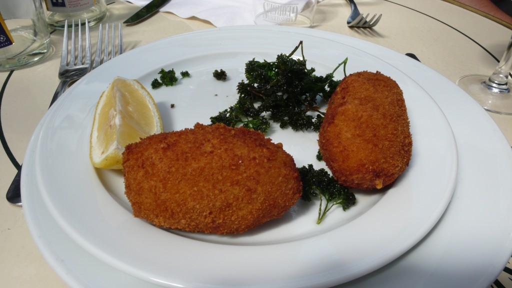 Belgian croquettes with Ostend shrimp