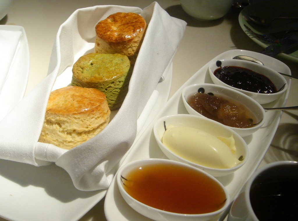 Scones at Yauatcha