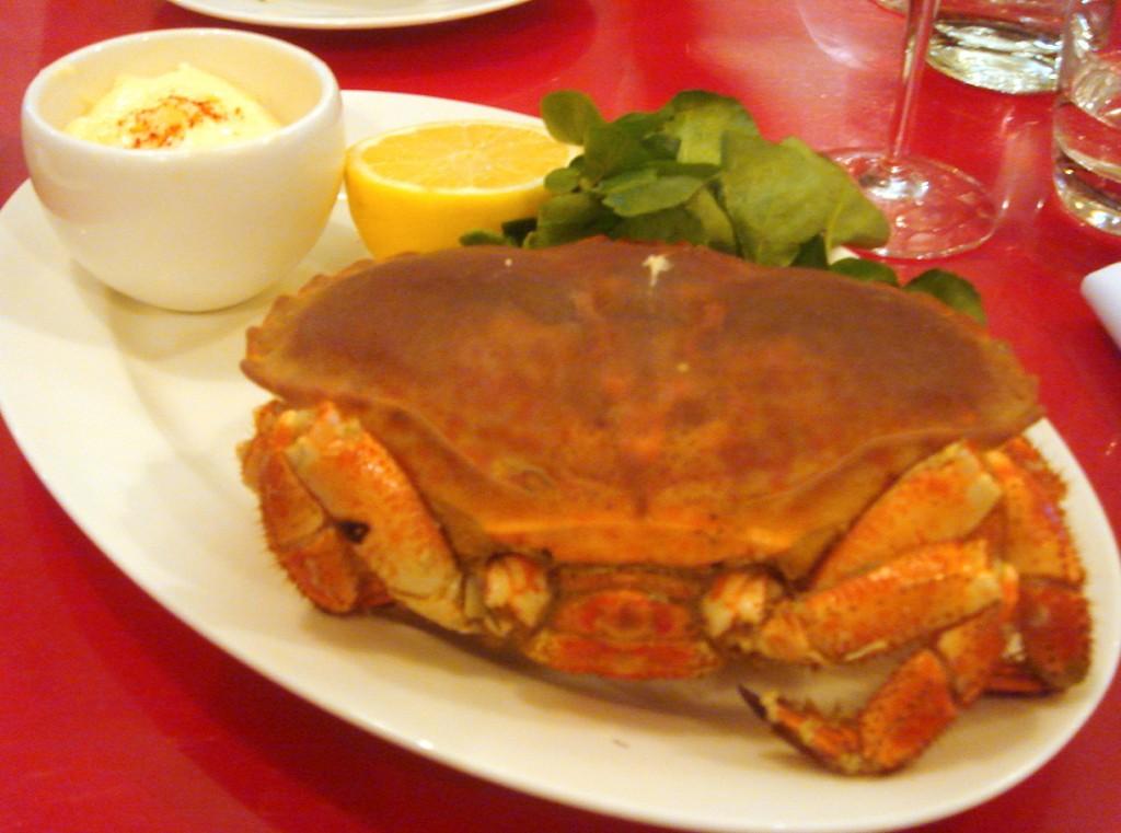 Whole Dorset crab