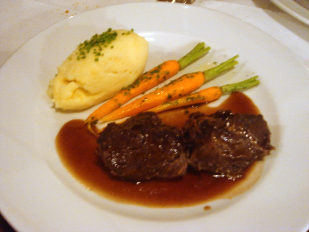 Slow-braised Scottish ox cheek