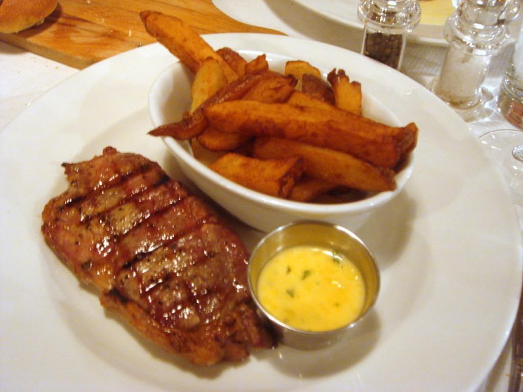 21 day Scottish rib-eye steak