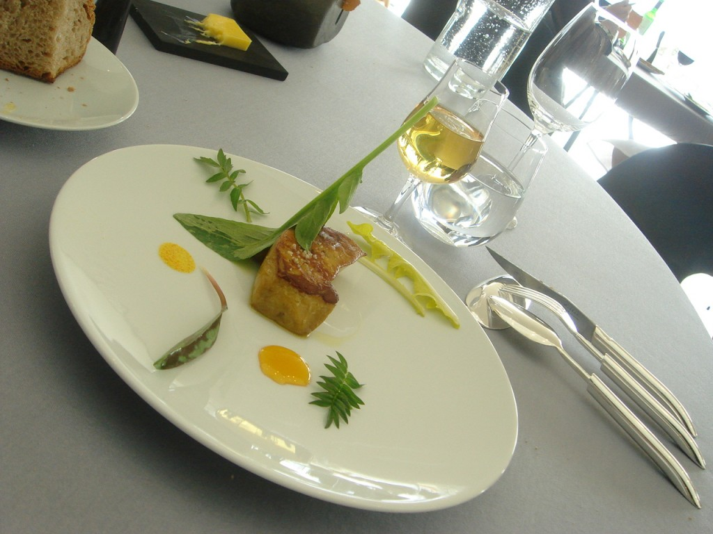 Foie gras de canard poêle