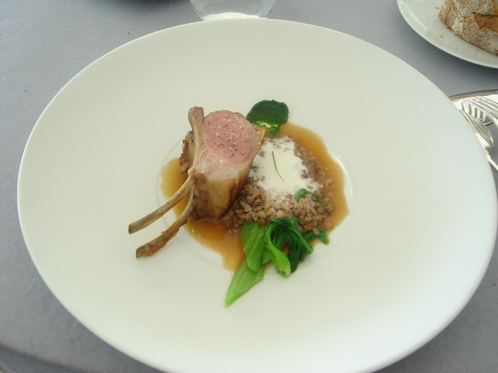 Rack of lamb from Aveyron