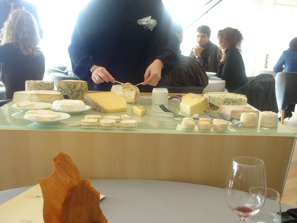 The cheese trolley