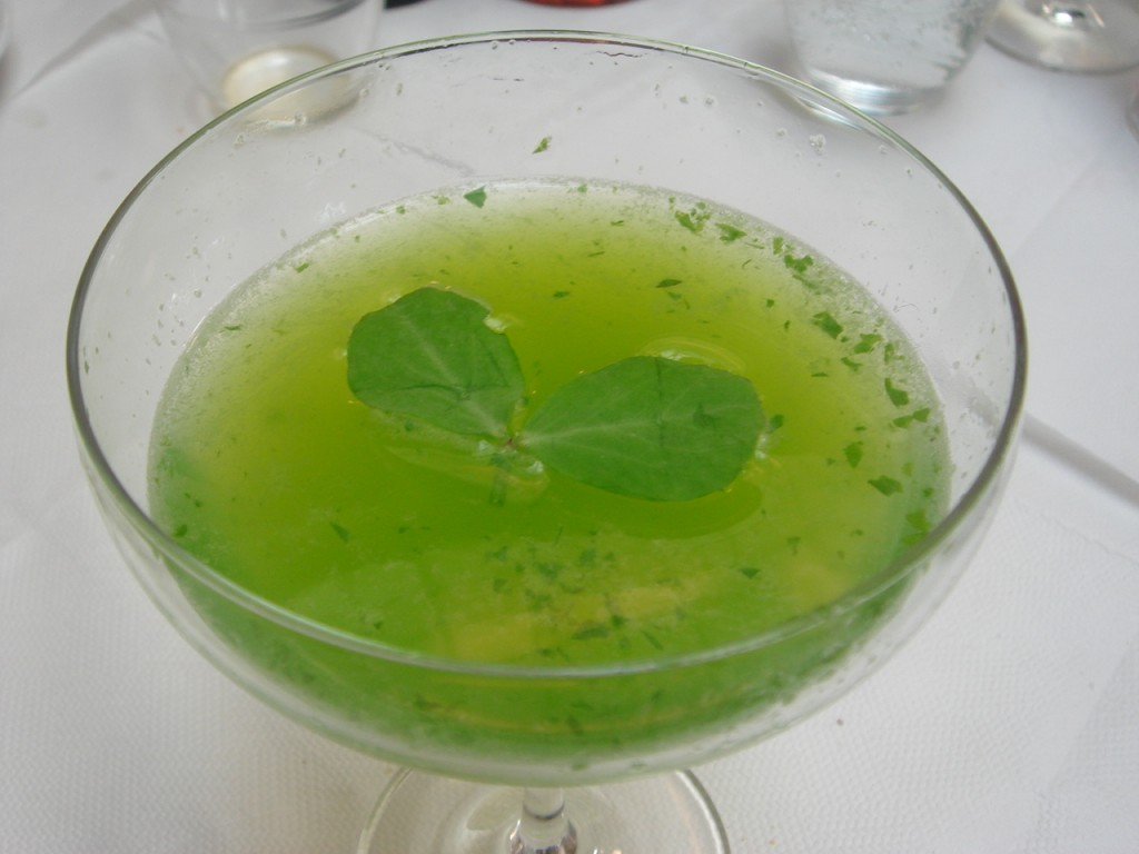 The pea-tini