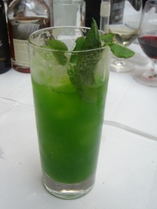 Pea shoot pimms
