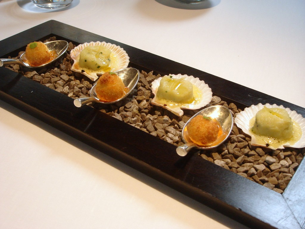 A girl has to eat and travel restaurant and travel for Amuse bouche cuisine