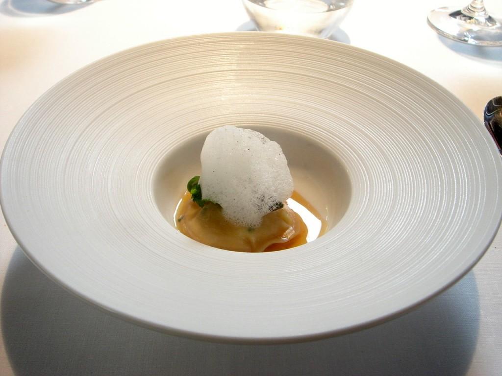 Langoustine & scallop ravioli