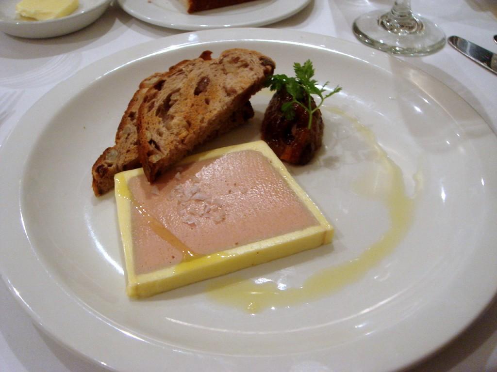 Chicken liver & foie gras parfait