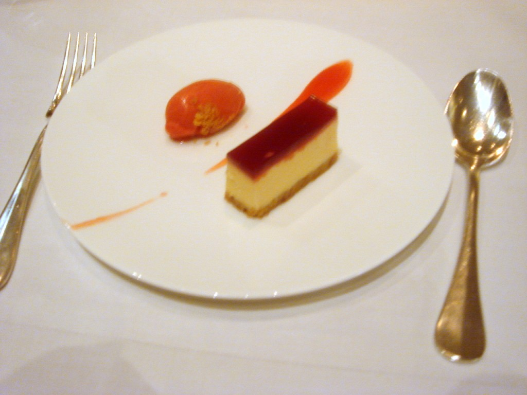 Brillat-Savarin cheesecake