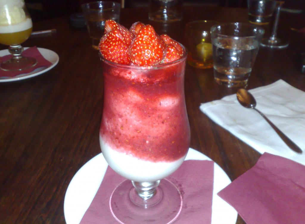 A fantastic summer berry fool