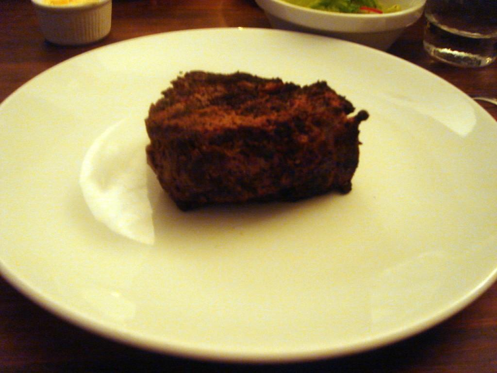 My second fillet steak