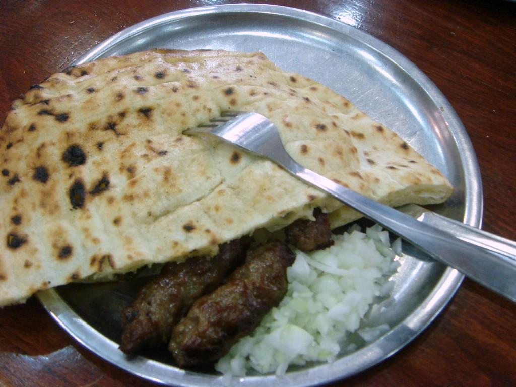 Ćevapi - a Bosnian specialty