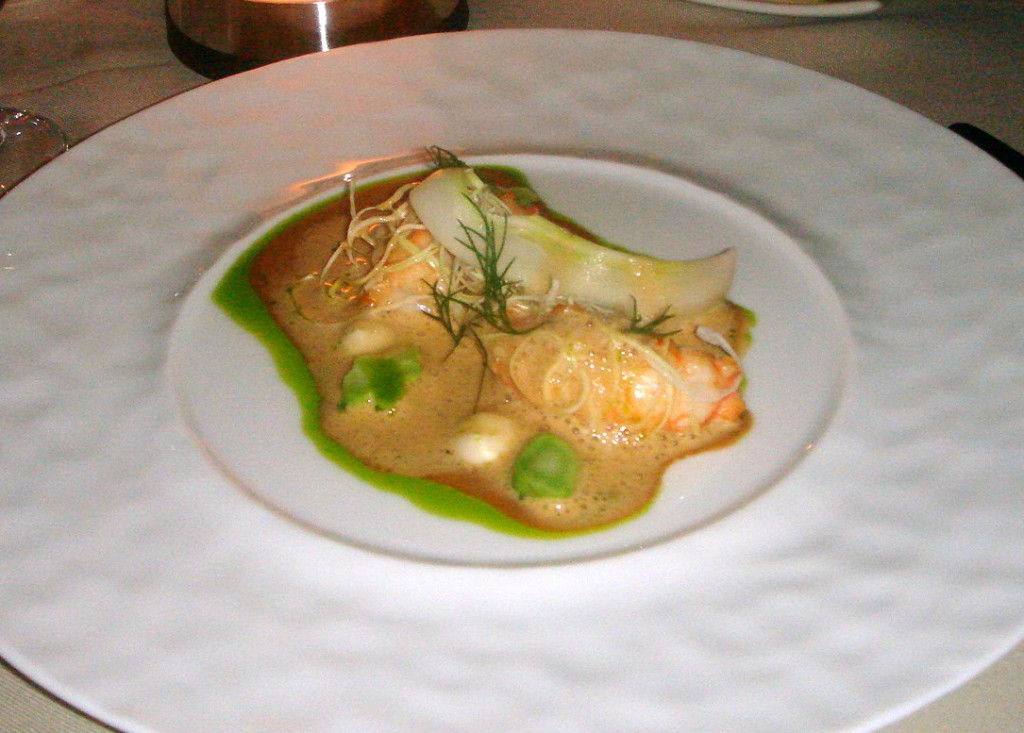 Langoustines, summer cabbage & dill