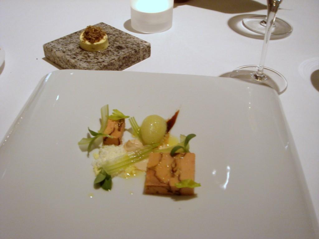 Foie gras & truffle butter