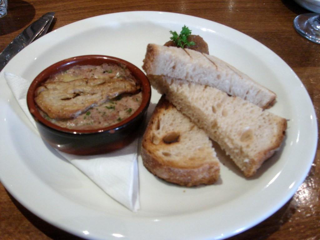 Foie gras & duck rillette