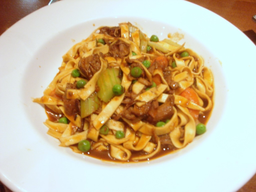 Tagliatelle of slow braised Devonshire lamb