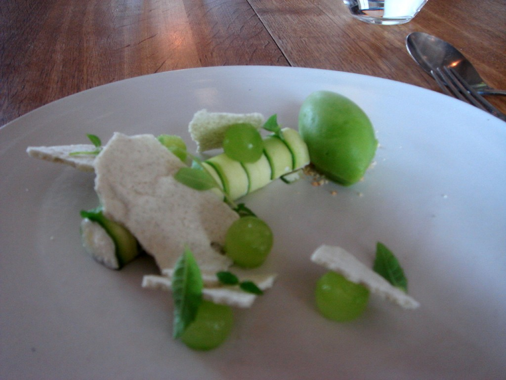 Cucumber & sheep's yoghurt