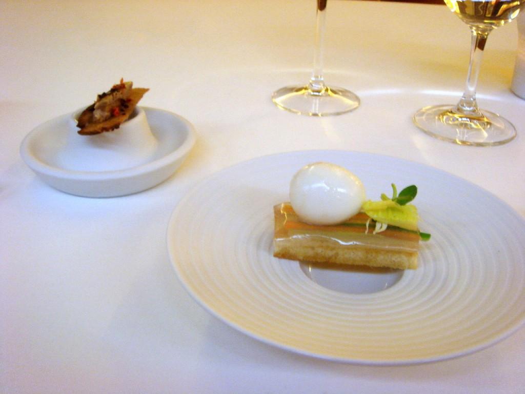 Grenoble style sardine & toast Mimosa