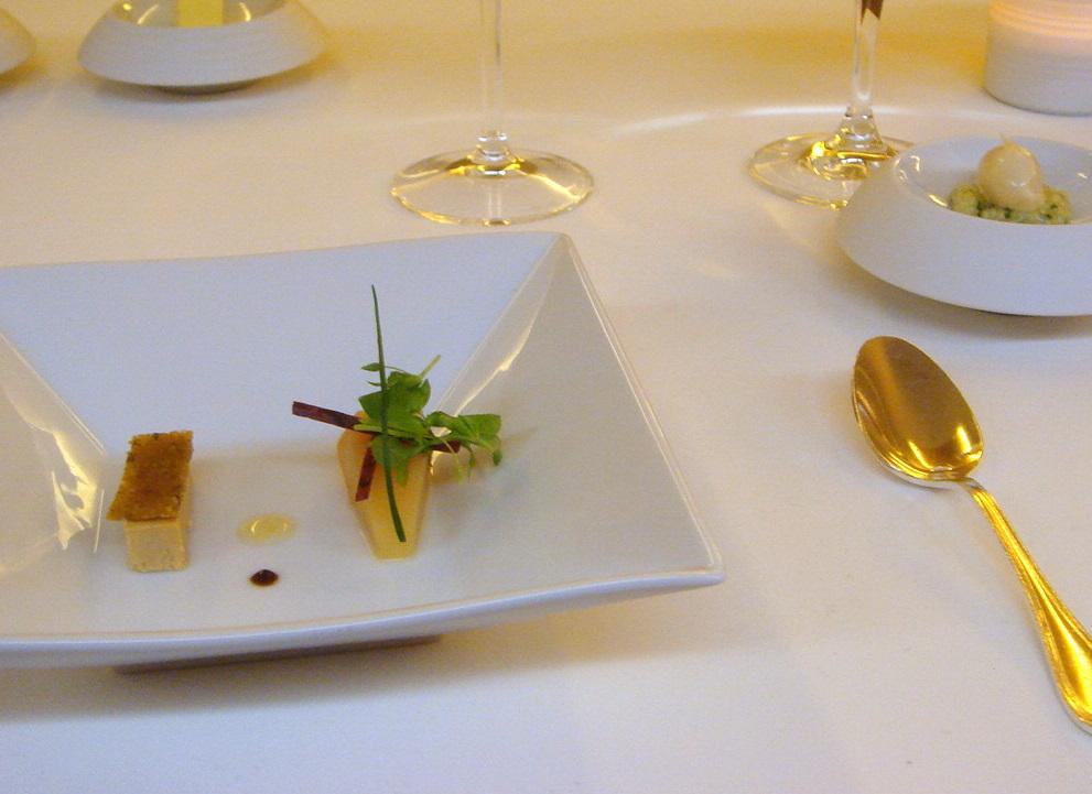 Foie gras & quince