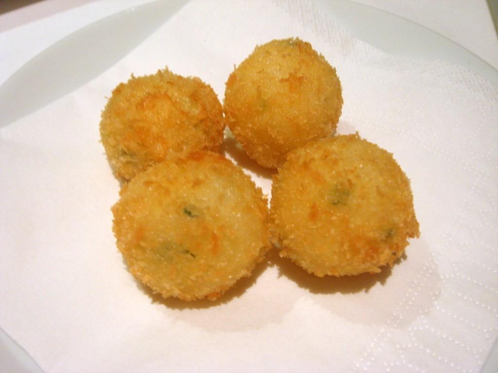 Salted cod fish balls