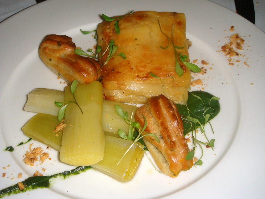 Celeriac, sage and hazelnut dauphinoise