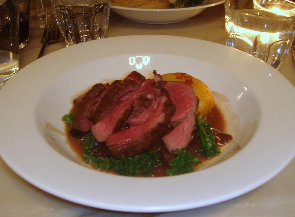 Roast venison, port & quince casserole