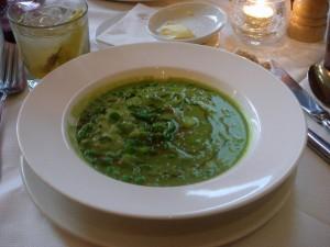 Pea soup à la Française
