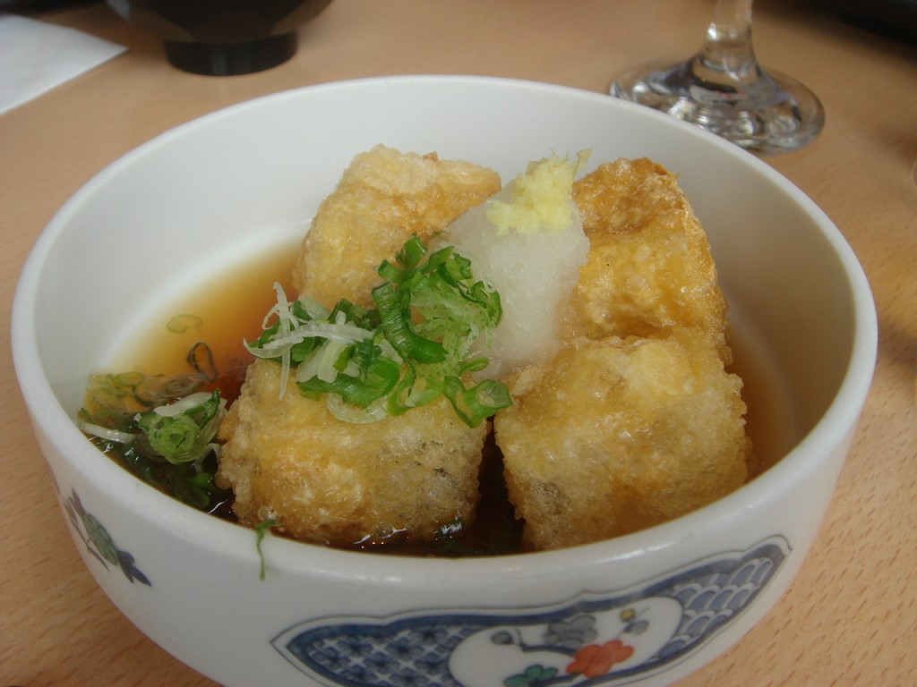 Agedashi tofu
