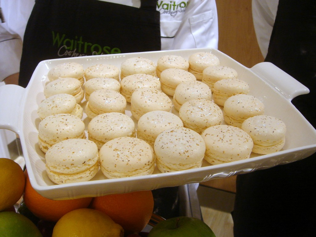 James' eggnog macaroons