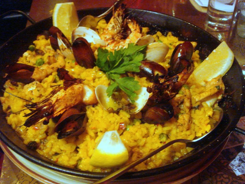 Valenciana paella