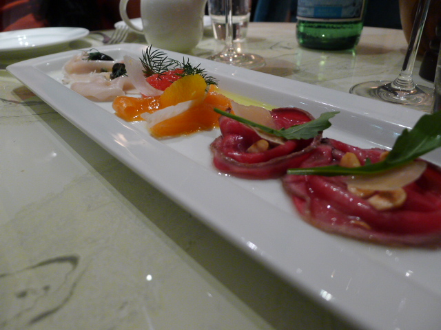 Carpaccio selection