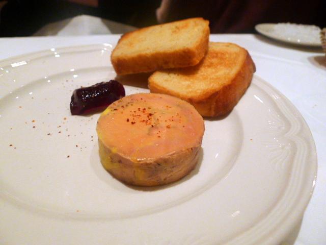 Foie gras ballotine