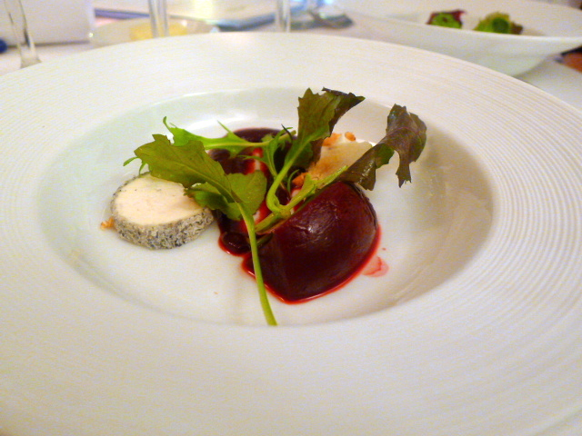 Sussex beetroot salad