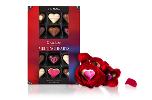 Hotel Chocolat Valentine's Melting Hearts