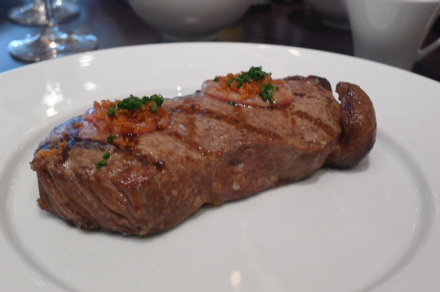 Sirloin of black angus steak