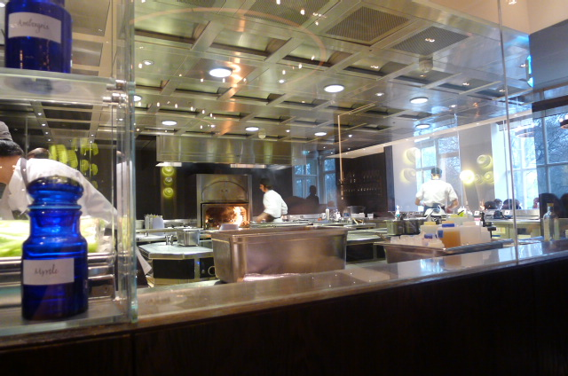 The kitchen at Dinner