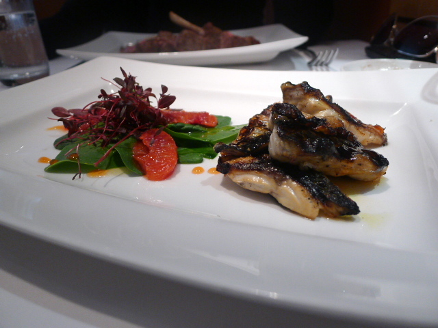 Fillet of mackerel