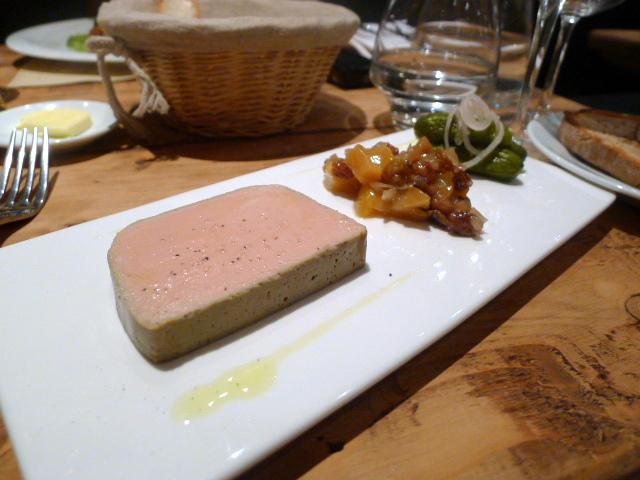Foie gras & chicken liver parfait