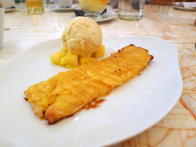 Pineapple galette