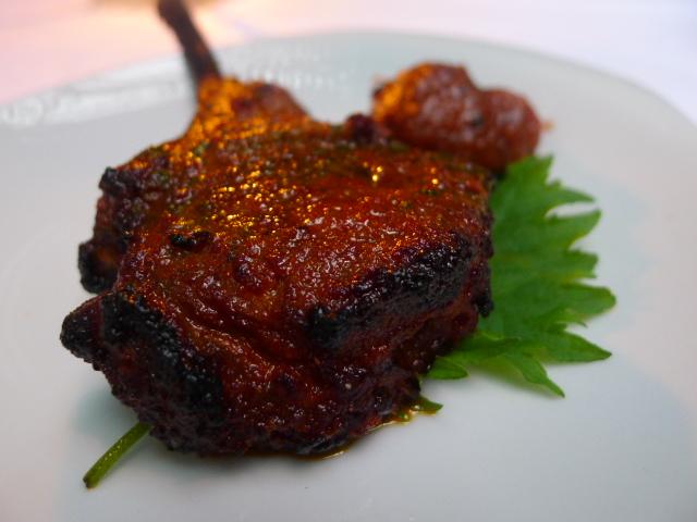Tandoori lamb chop
