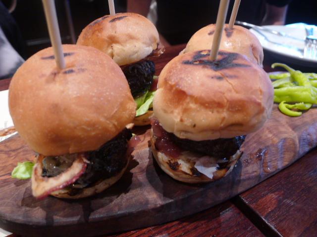 Iberico pork & foie gras burger