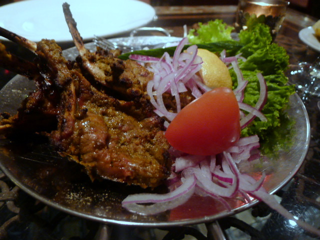 Lamb tandoori