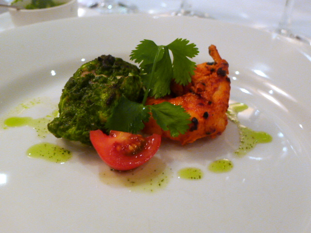 Tiger prawn & monk fish