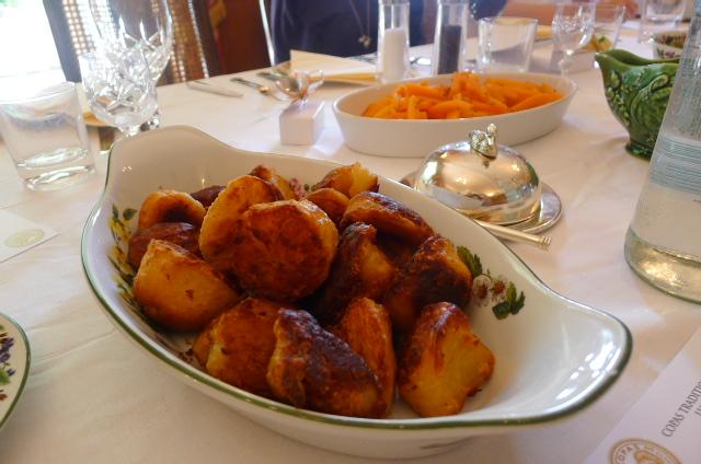 Fantastic roast potatoes by Mrs Copas